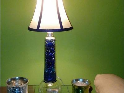 DIY Ciroc Bottle Lamp