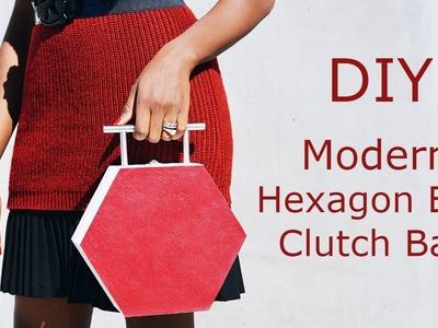 DIY: Hex Box Clutch