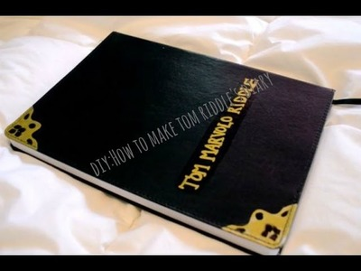 DIY:How to make Tom Riddle's diary