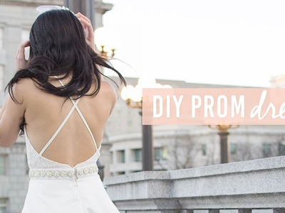 DIY Lace Prom Dress | For less than $50