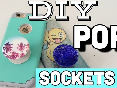 DIY Pop socket | Make your own pop socket with things lying around your house!!
