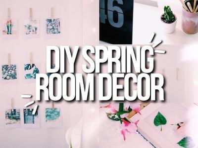 DIY SPRING ROOM DECOR 2017! Cute, Easy + Cheap!