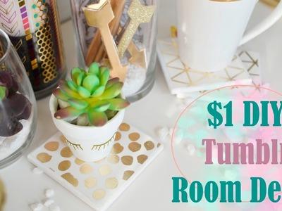 Dollar Tree DIY (Tumblr Decor YOU GOTTA TRY!)- NEW!