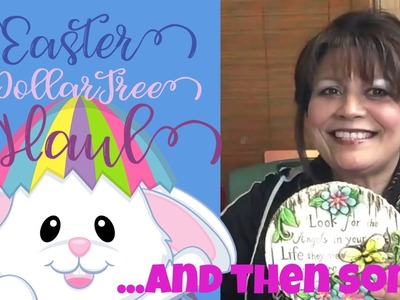 ????????????Dollar Tree Easter Haul: & DIY Supplies for Do-it-Yourself Projects