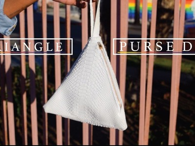 Fashion DIY| Triangle Bag