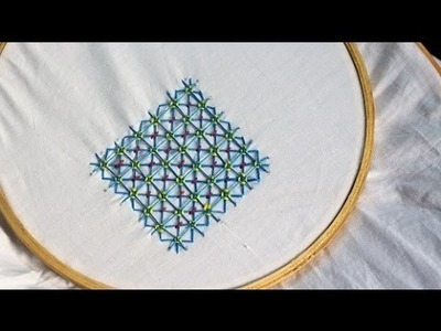 Griffin Stitch, Hand Embroidery Tutorial