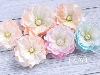 Handmade Silk Foam Flower Tutorial & Giveaway