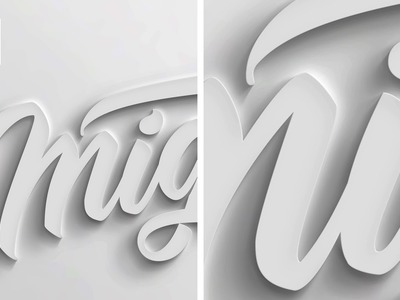How to make 3D text in Photoshop - Tutorial