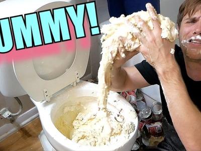 How To Make Edible Toilet Slime - Toilet Slime Taste Test | TC #183