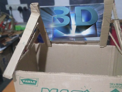 How To Make Laptop 3D Screen With Lense At Home