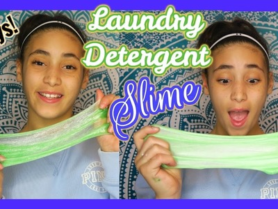 How to Make Laundry Detergent Slime - 2 Ways! | #slime | In Mad's World