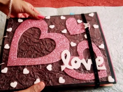 Lovely handmade scrapbook greeting card. . For someone special. ????
