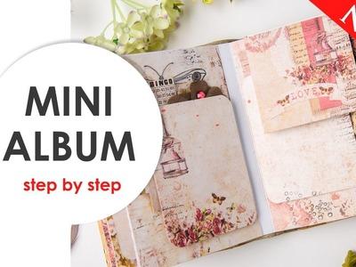 Mini album. Scraps Of Darkness Feb. Our Story Kit. Scrapbooking tutorial.