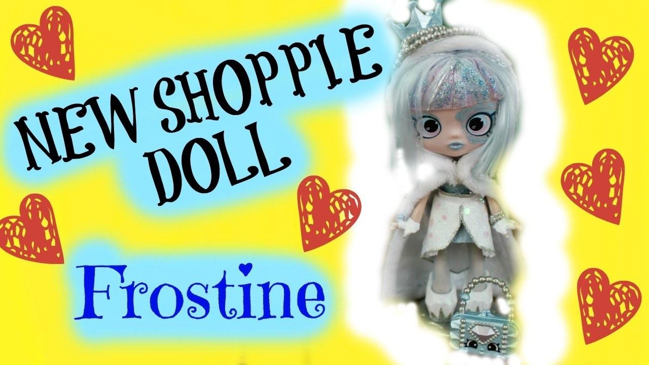 Hand Painted Tile Backsplash New Shopkins Shoppie Doll FROSTINE, DIY Custom Hand ...
