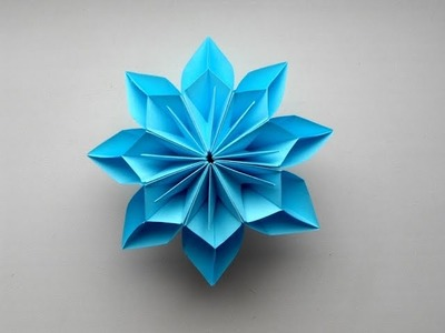 Origami Flower Very Easy and Simple