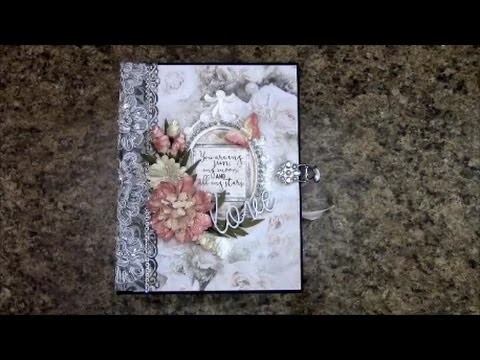 PART 1 TUTORIAL MINI ALBUM FOR BEGINNERS PS I LOVE YOU BY SHELLIE GEIGLE JS HOBBIES AND CRAFTS
