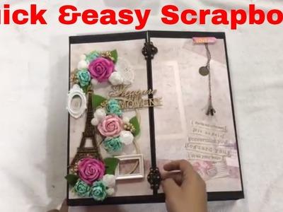 SCRAPBOOK DIY HANDMADE quick & easy