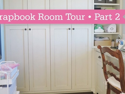Scrapbook Room Tour: Part 2 of 3