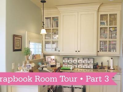Scrapbook Room Tour: Part 3 of 3