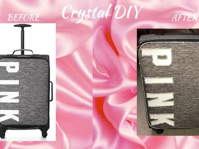 VS PINK CRYSTAL BAG DIY