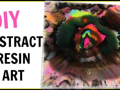 Abstract Resin Art | Dream | DIY Projects | Craft Klatch | How To