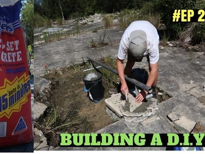 BUILDING A D.I.Y SKATEPARK #2