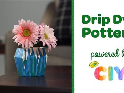 Crayola CIY: Create It Yourself - Drip Dye DIY Pottery Craft