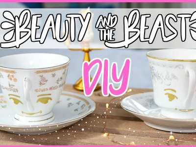 DIY CHIP CUP | BEAUTY AND THE BEAST 2017