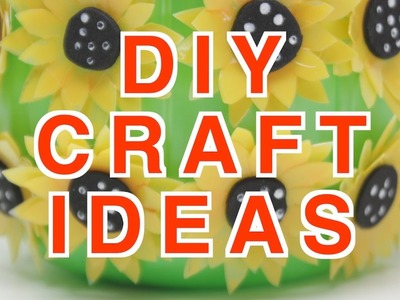 DIY Creative Craft Ideas for Best Out of Waste Projects From Recycled Bottles Crafts