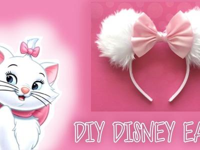 DIY DISNEY EARS! Aristocats' Marie Craft ????