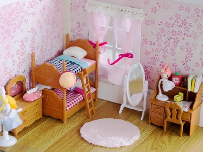DIY Dollhouse - How to Customize Miniature Room Wall. Tutorial - Nendoroid, Dolls, LPS