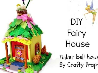 DIY Fairy House.DIY Fairy Garden.DIY TinkerBell house.DIY Disney Room Decor Ideas