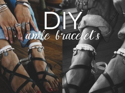 DIY: How To Make Ankle Bracelets
