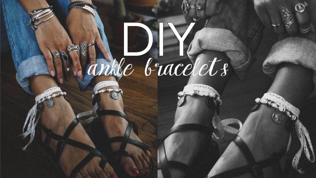 DIY: How To Make Ankle Bracelets