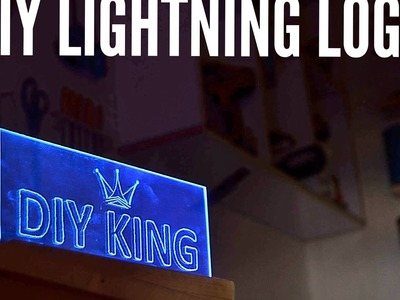 DIY Lightning logo panel from scratch