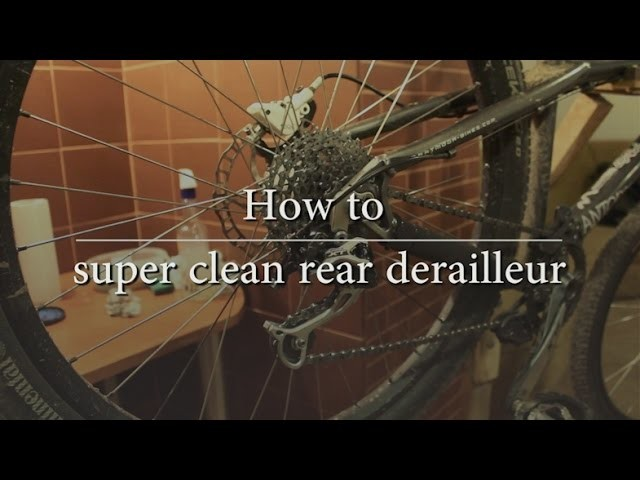 DIY Shimano rear derailleur | how to clean and disassembly