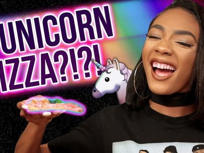 DIY UNICORN PIZZA?! Slice Slice Baby w. Kellie Sweet
