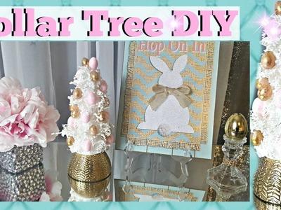DOLLAR TREE DIY EASTER 2017 - Easter Egg Tree | Easy Home Decor Craft