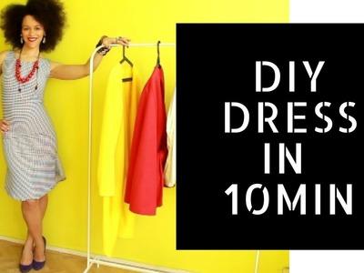 ???? Easy DIY Business Dress in 10min ???? | Dress Like a #BOSS