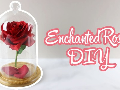 Floating Enchanted Rose DIY | Beauty And The Beast Week | parejeda