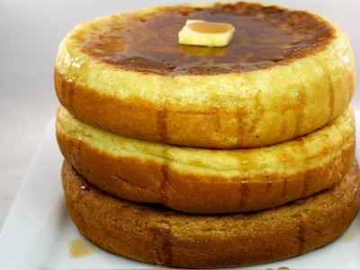 Giant Fluffy Pancakes | DIY How to Make Giant Fluffy Pancakes