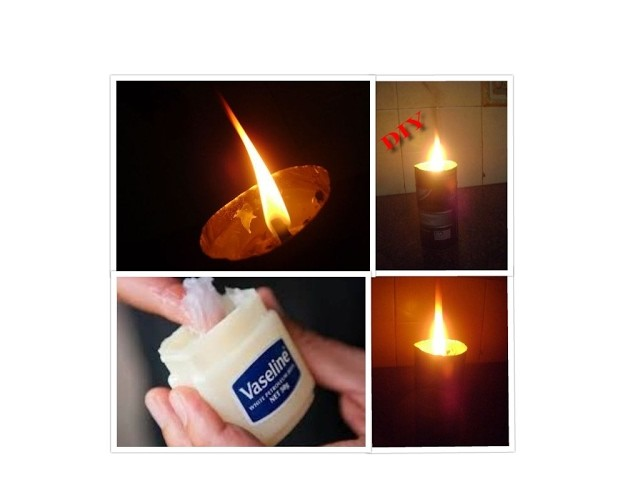 HOW TO MAKE A CANDLE AT HOME UNDER 5 MINS | DIY