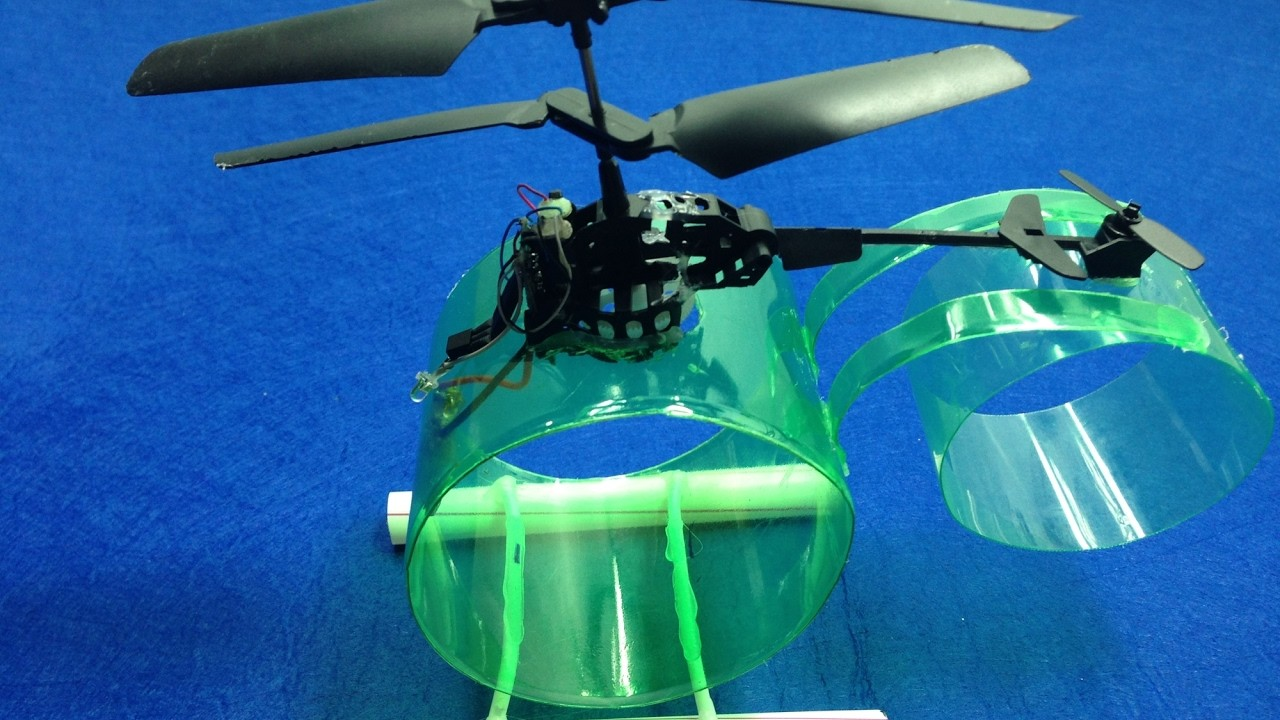 How to make a Helicopter Remote Control - Electric Helicopter - DIY Planes