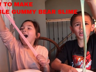 How To Make Edible Gummy Bear Slime, Edible Slime, DIY Gummy Bear Slime