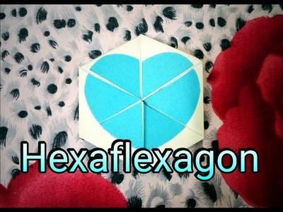 How to make Hexaflexagon. DIY paper craft ideas