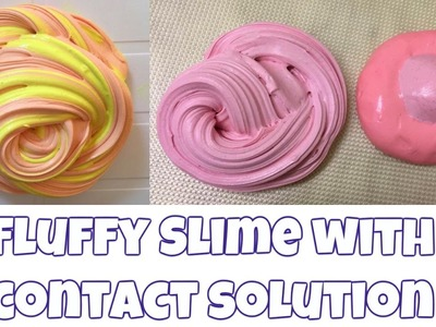How to make malleable fluffy slime - DIY 'no' borax needed (switzerland edition)