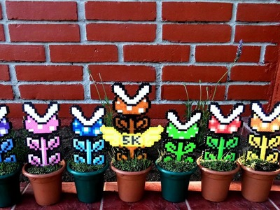 How to make Super Mario Piranha Plants with Perler.Hama.Artkal Beads