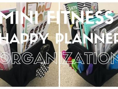 MINI FITNESS PLANNER ORGANIZATION | What's In My Organizer Bag