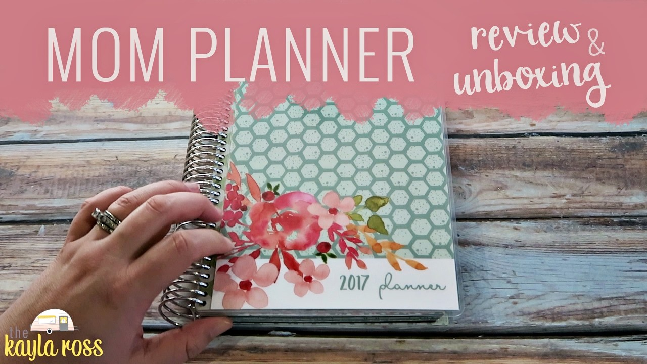 MOM ON THE GO PLANNER REVIEW 2017 | PERFECT MOM PLANNER