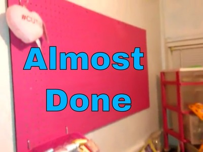 My Very Pink Craft Room Pt 3 Chit Chat And A Peak At My Stash